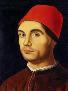 man-red-hat